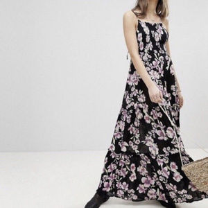Intimately Free Garden Party Maxi Tiered Dress S